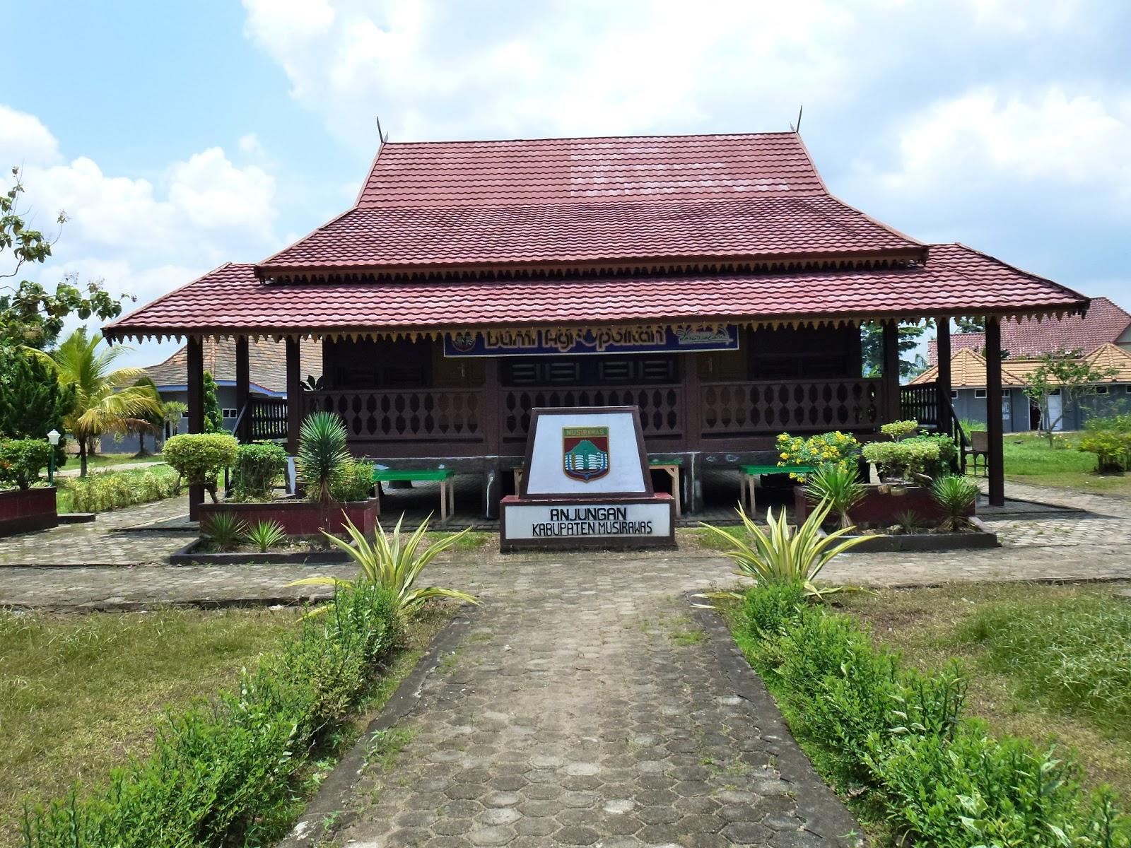 UPTD BPPIP: Rumah Adat Sumatera Selatan