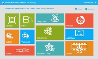 ThunderSoft Video Editor 7.4.0