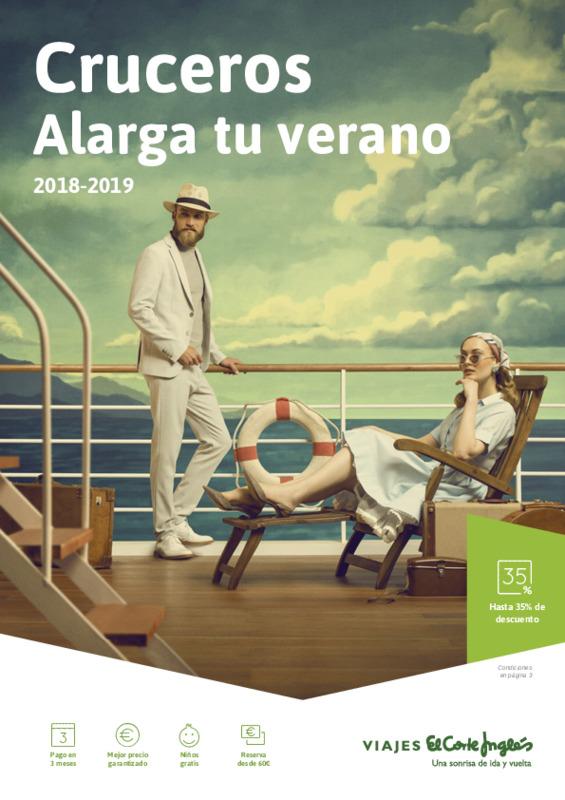 Catálogo El Corte Inglés Cruceros Europa, África, Asia, América 2018-19
