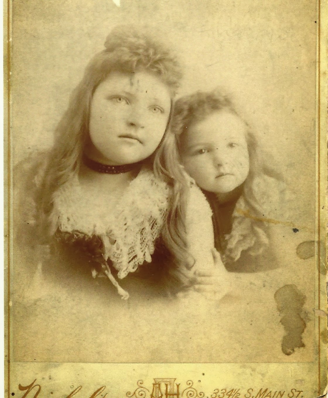 Climbing My Family Tree: Grace & Fern Fisher, daughters of Ella Bailey & William W. Fisher