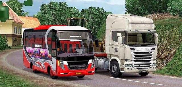 download Mod Medium Bus Tourista Laksana By AC