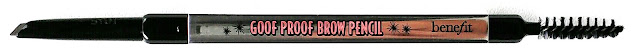 Benefit Cosmetics New Brow Products Reviewed, All Of Benefit Cosmetics New Brow Products, Benefit Cosmetics Goof Proof Brow Pencil