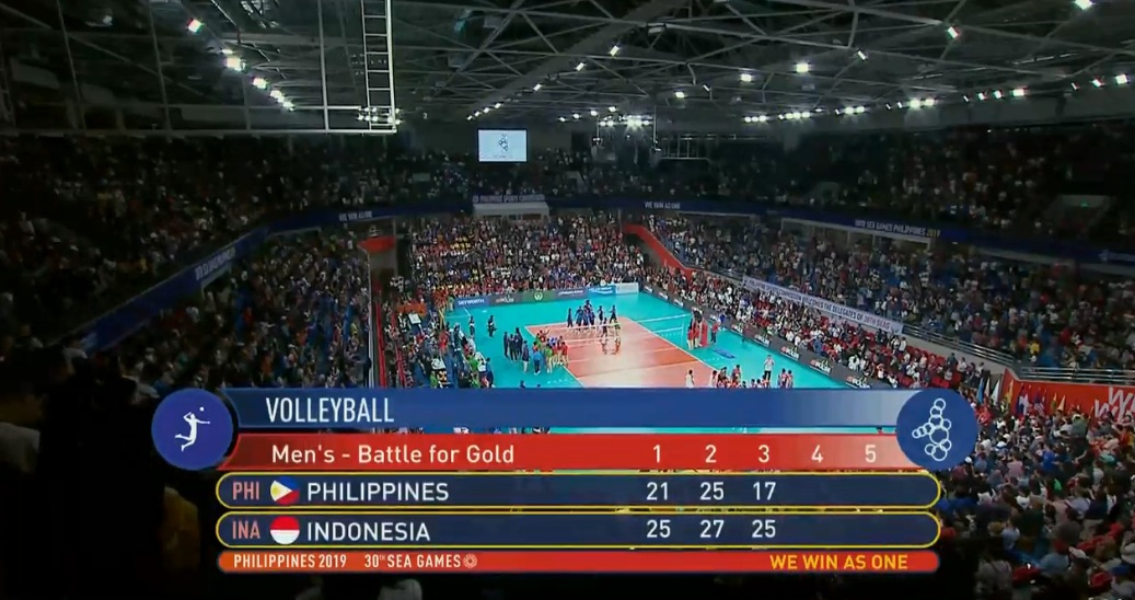 Indonesia def. Philippines, 3-0 (VIDEO) Men's Volleyball Gold | SEA Games 2019 | December 10