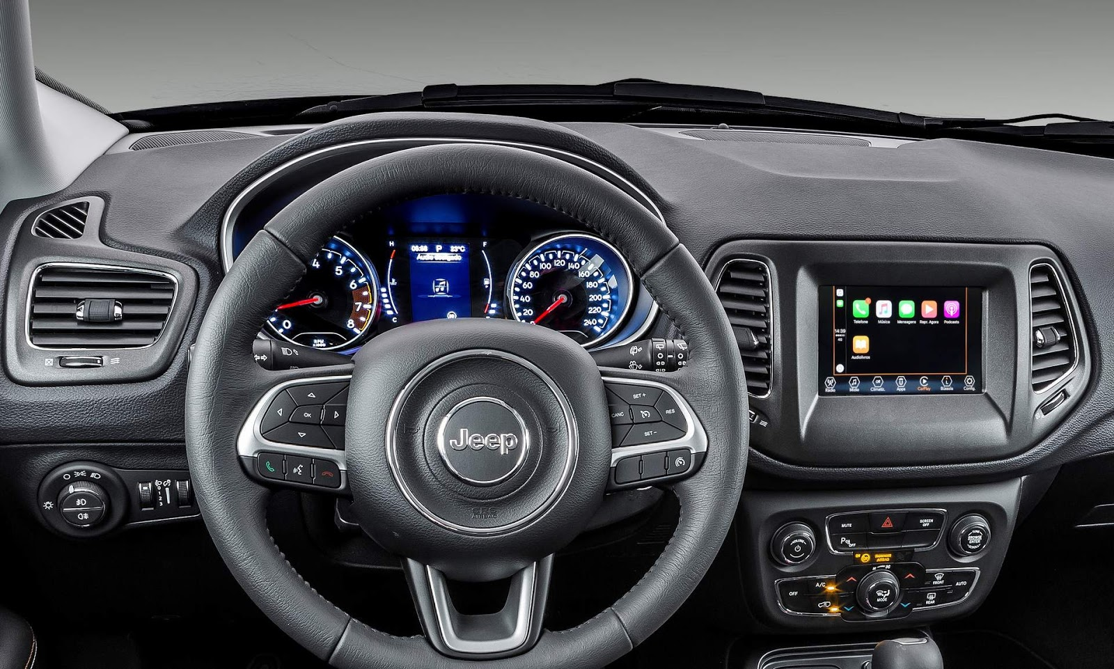 100 jeep compass 2018 new compass latitude fwd for - Jeep compass interior ...
