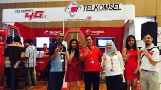 4G LTE Telkomsel Meriahkan GIIAS 2015 Telkomsel  teknologi terbaru 4G LTE seluruh hall pameran serta layanan canggih t-Drive