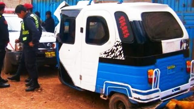 Mototaxi robada en Chincha fue recuperado - Chincha.info