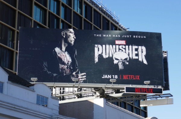 Punisher season 2 billboard