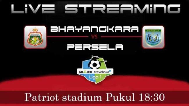 live streaming bhayangkara vs persela lamongan 27 oktober 2017