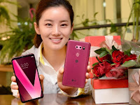 News LG V30 Plus Pink Hadir di Indonesia