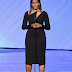 Michelle Obama wows in black at the 2017 ESPYS