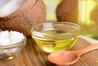 cara hilangkan kelemumur minyak zaitun dan kelapa