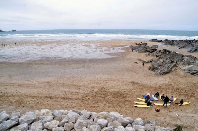 Surf Lesson at Fistral Beach Newquay