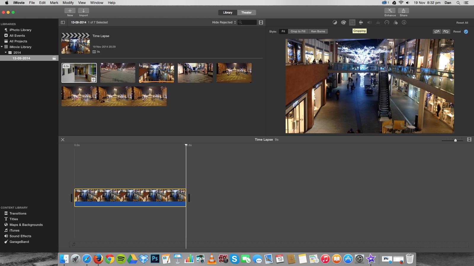2014/2015 A2 Media - John Masters: iMovie Technique - Zoom In