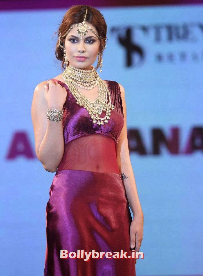 Shrishti Rana, Aditi Rao, Shazahn, Rochelle at Retail Jeweller Indian Trendsetter 2014 Show