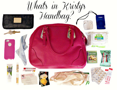 What's in my Handbag Post