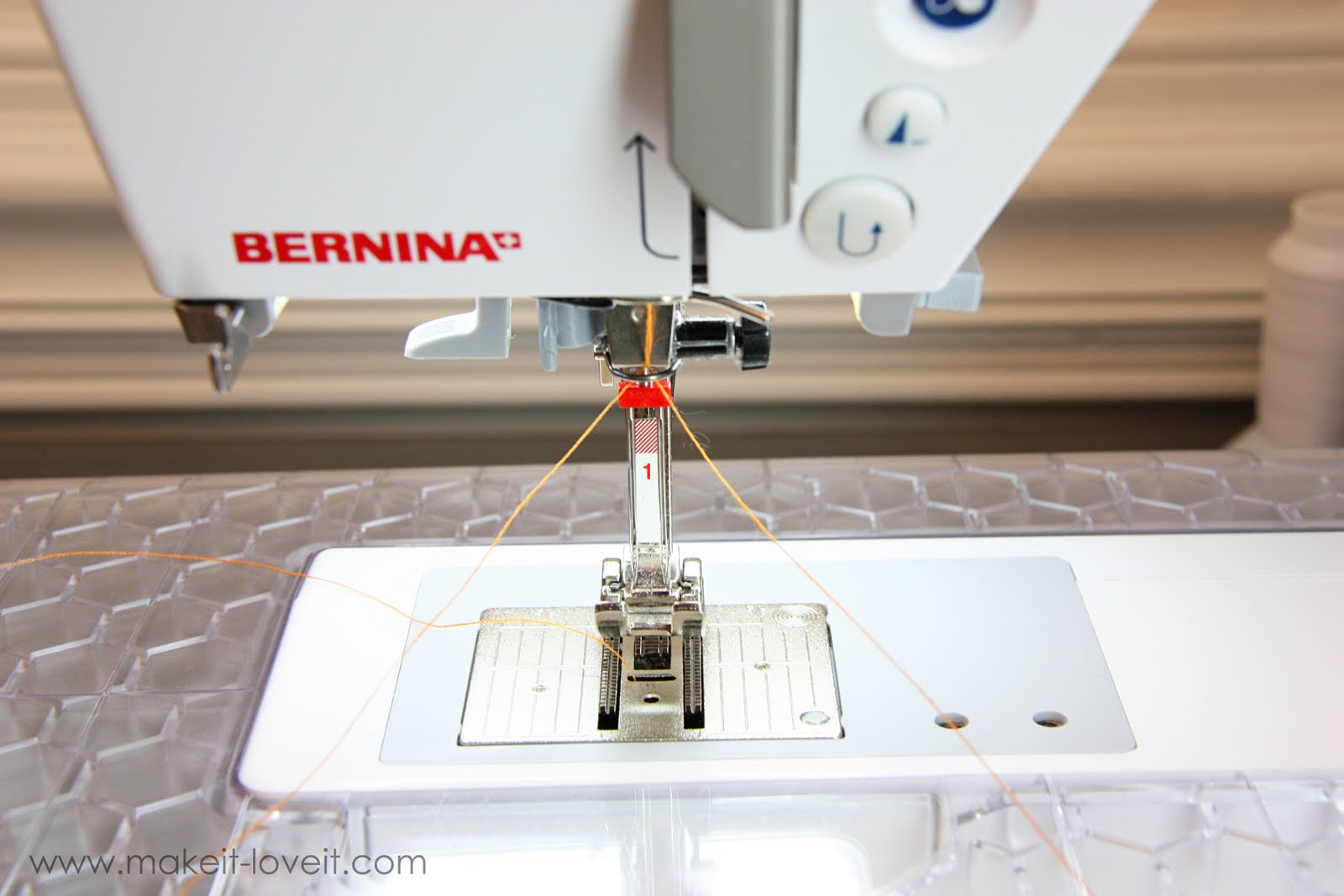 Sewing Tips Basic Stitches Plus The Double Needle Make It And Bernina 830 Machine Threading Diagram Love