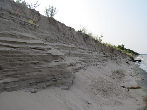 Hoffmaster State Park beach bluff