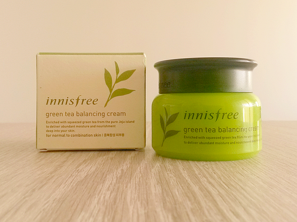 Innisfree-Green-tea-Balancing-Cream-creme-jour-peaux-mixtes