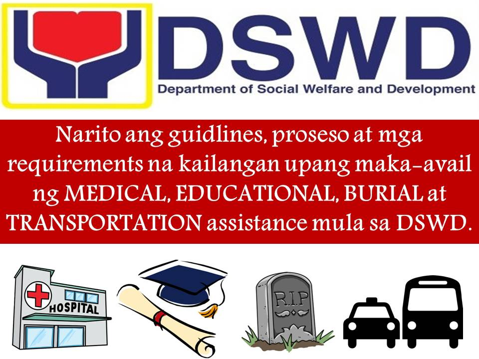 How to avail medical educational burial and transportation guidelines step by step process and requirements to avail medical educational burial and transpo assistance from dswd yadclub Choice Image