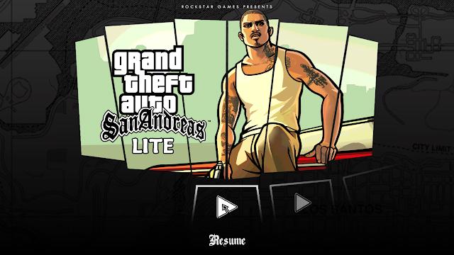 تحميل GTA San Andreas lite معدلة لتصبح بحجم صغير للأندرويد
