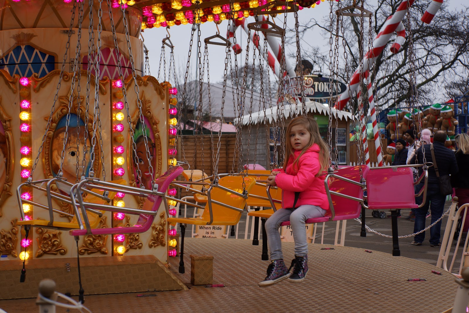 ride at london winter wonderland