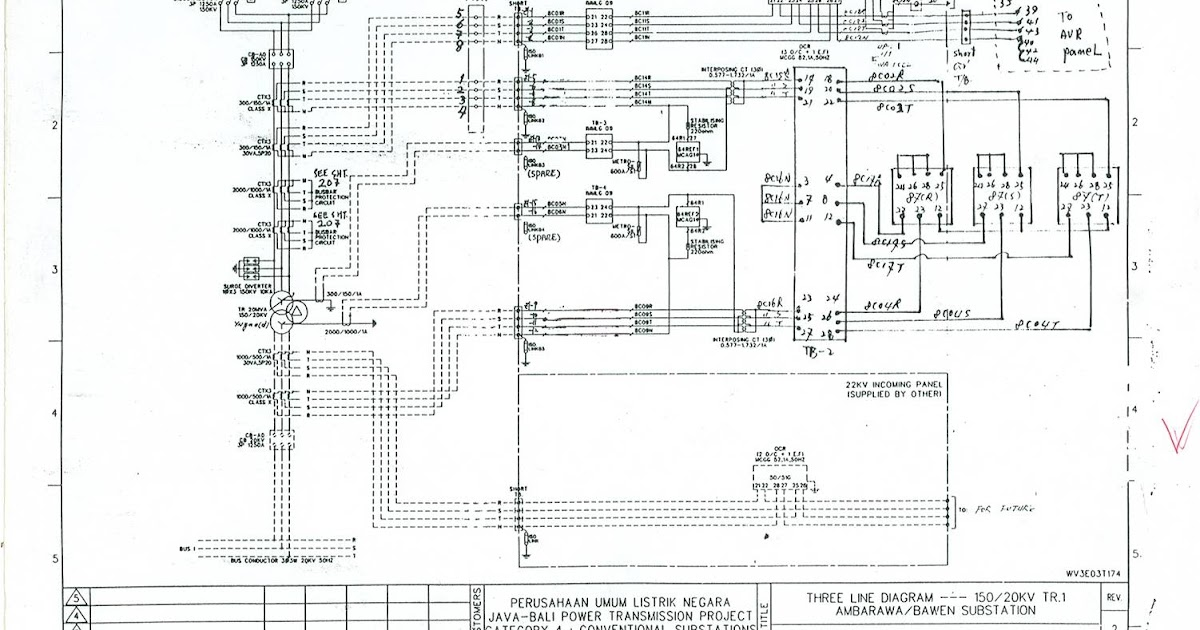 switchyard: Three Line Diagram.1