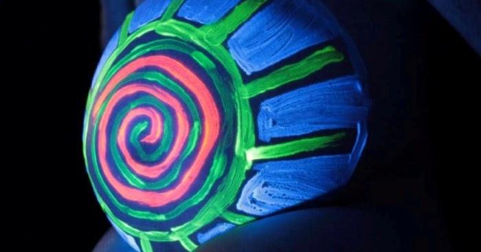 Что светится в ультрафиолетовом свете