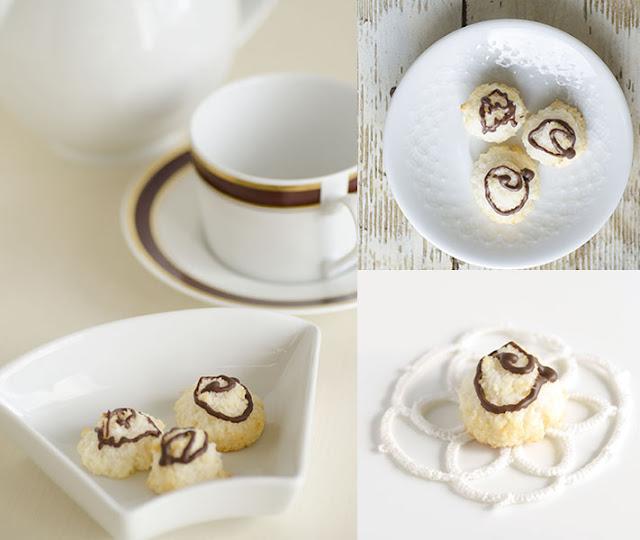 biscottini al cocco e ciocolato