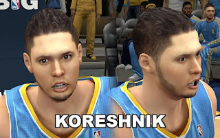 NBA 2K13 Cyberfaces Patches Pack
