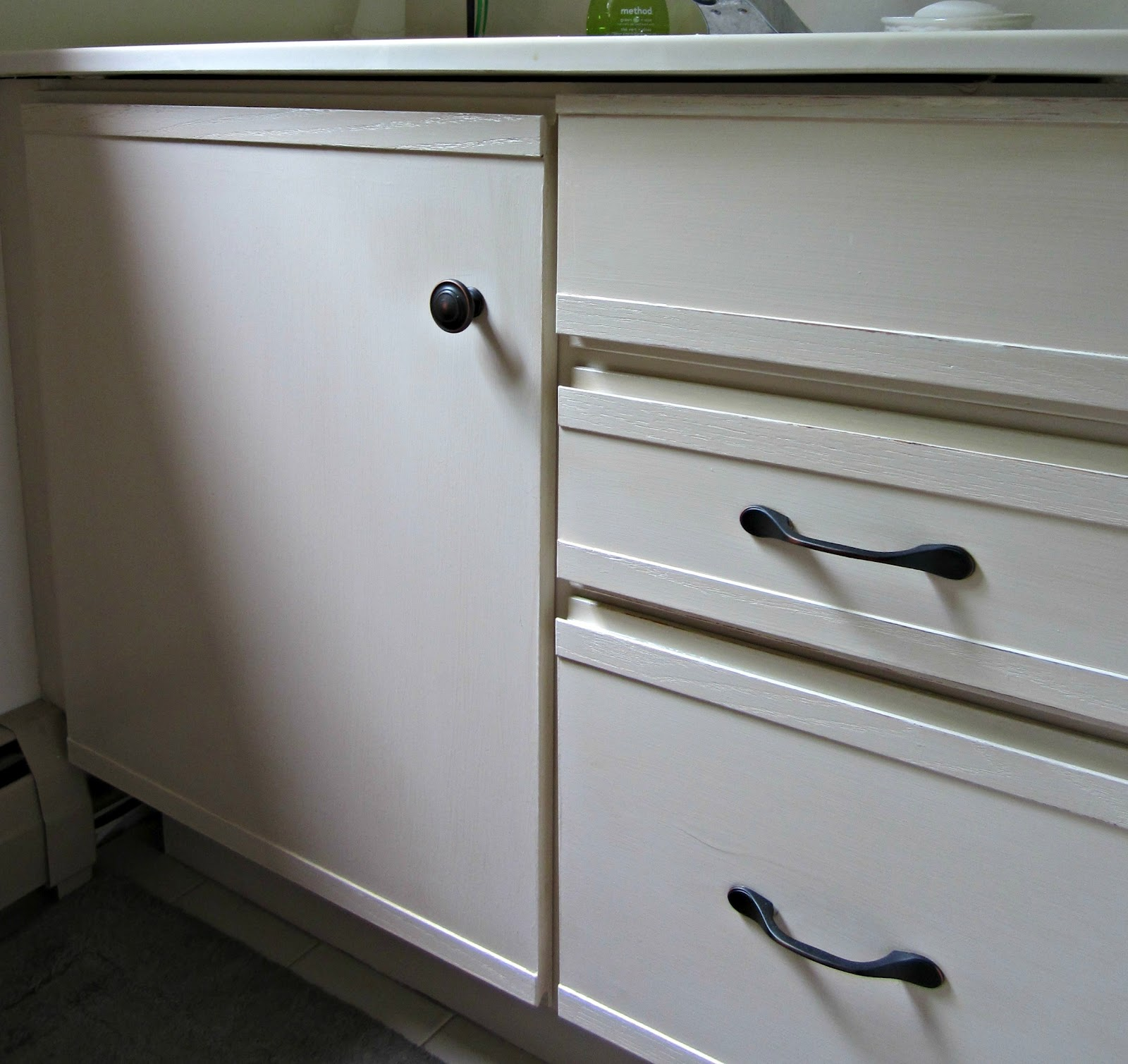 Facelift For Kitchen Cabinets: We're Going To Be Switching Out The Faucet, And Framing