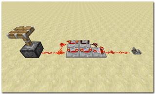 Minecraft Redstone Circuit コンパレーターを使ったクロック回路 リピーターで遅延