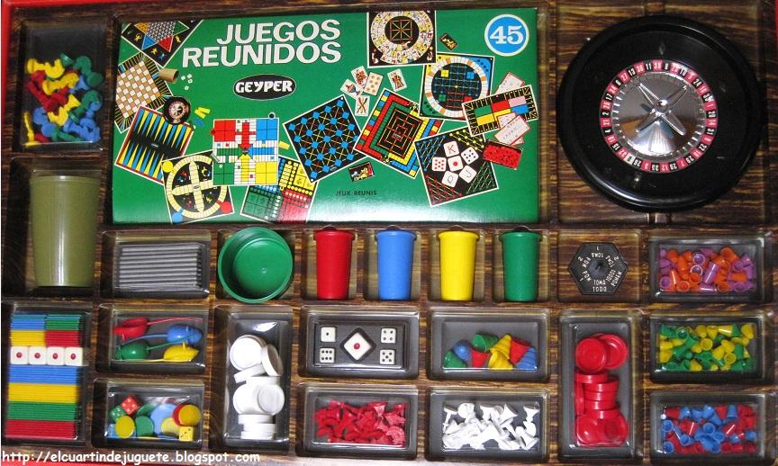El Cuartin De Juguete Juegos Reunidos Geyper