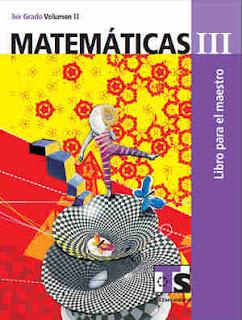 Libro de TelesecundariaMatemáticasIIITercer gradoVolumen IILibro para el Maestro2017-2018