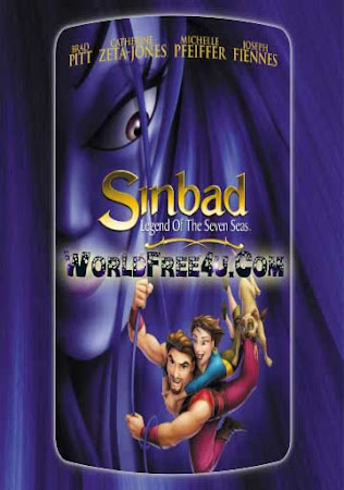 Poster Of Sinbad: Legend of the Seven Seas 2003 In Hindi Bluray 720P Free Download