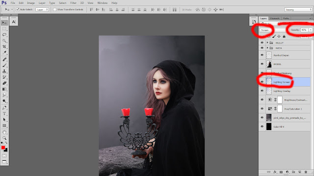 32 Design cover buku Novel dengan Photoshop CC part2