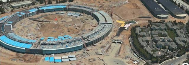 Atualização do Apple Maps traz imagens de satélite do novo campus da Maçã
