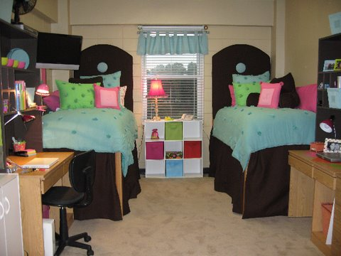 Dorm Room Decorating Ideas: College Dorm Room