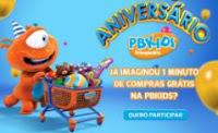 Cadastrar Promoção PBKids Aniversário 2016