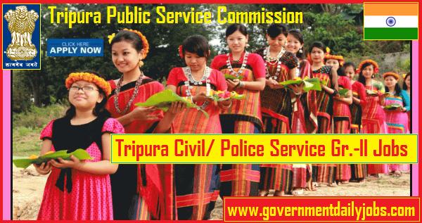 TPSC Recruitment 2019 Tripura PSC 40 TCS/TPS Grade II Vacancies