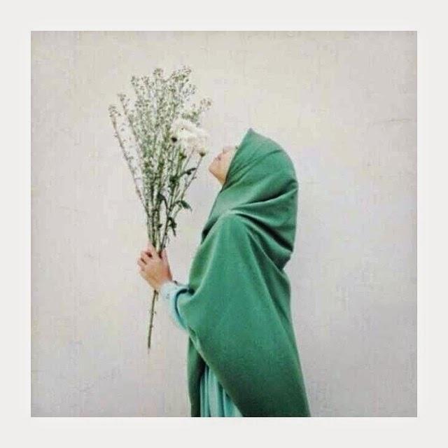 foto profil muslimah berhijab syari