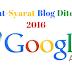 Syarat-Syarat Dan Kriteria Blog Yang Diterima Google AdSense Terbaru Dan Terlengkap 2016