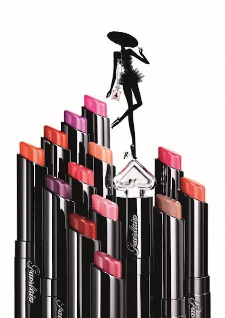 ♥ La petite Robe noir de Guerlain habille nos lèvres ♥