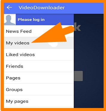 how to download facebook video from phone