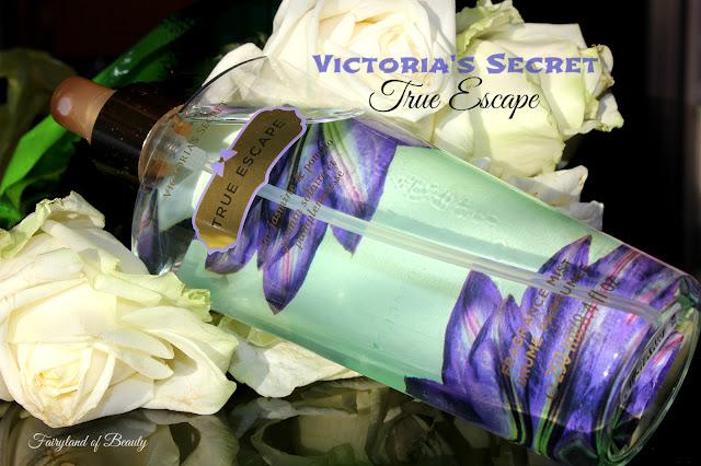 """Отзыв: Парфюмированный спрей для тела True Escape от """"Victoria's Secret""""."""