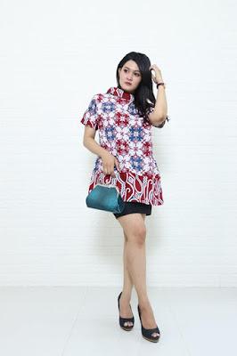 Gambar baju batik wanita dengan bahan katun istimewa