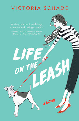 Life on the Leash book by Victoria Schade stylised cover