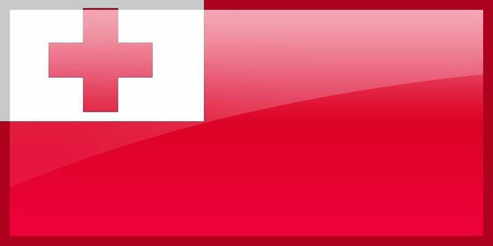Graafix Flag Of Tonga