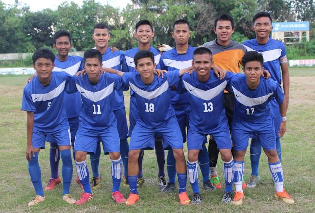 Pemain Junior FC di Liga Remaja U-16 Sumsel Super League tahun 2016