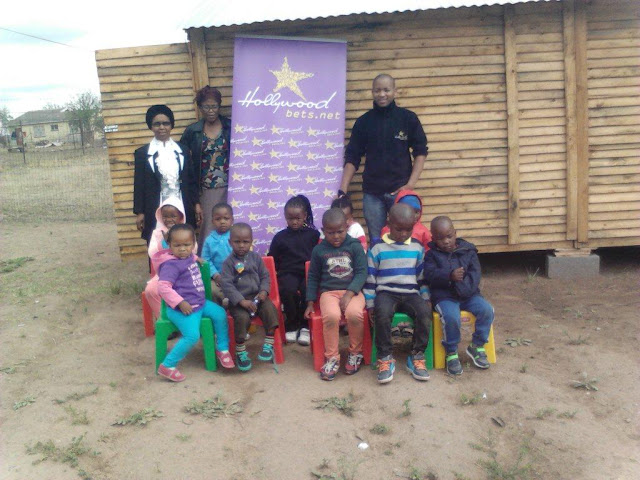 Newtown Crèche - Hollywoodbets Donation
