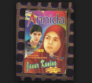 Ketika Majalah Islami Annida Milik Tetangga  Saya Pinjam
